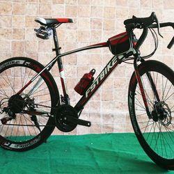 xe đạp đua FST GT002 màu đỏ