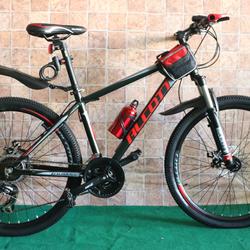 xe đạp địa hình Alcott 6100 - XC màu đỏ đen giá sỉ