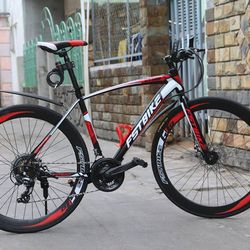 Xe đạp địa hình FST GT002 MÀU ĐỎ