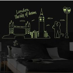 Decal dán tường dạ quang phát sáng trong đêm giá sỉ
