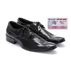 Giày tây nam Huy Hoàng màu đen HR7102
