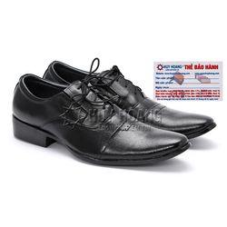 Giày tây nam Huy Hoàng màu đen HR7103