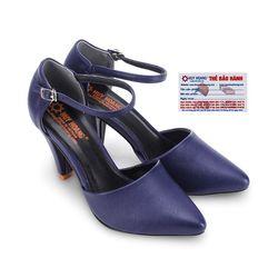 Giày nữ Huy Hoàng cột dây màu xanh đậm HR7093