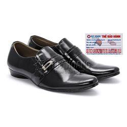Giày tây nam Huy Hoàng màu đen HR7105