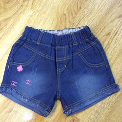 Quần short Jeans bé gái s1-8 giá sỉ