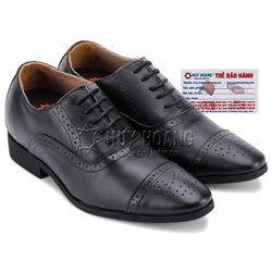 Giày tăng chiều cao huy hoàng màu đen HR7183 giá sỉ