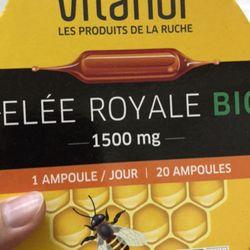 Sữa ong chúa Vitaflor Bio 1500mg 20 ống của Pháp giá sỉ