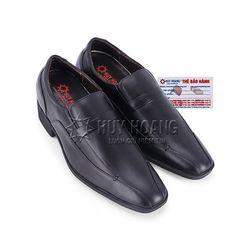 Giày nam tăng chiều cao Huy Hoàng màu đen HR7714 giá sỉ