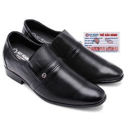 Giày tăng chiều cao Huy Hoàng màu đen HR7162 giá sỉ
