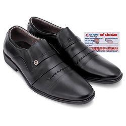 Giày tăng chiều cao Huy Hoàng màu đen HR7179 giá sỉ