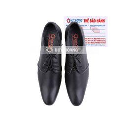 Giày nam tăng chiều cao Huy Hoàng màu đen HR7722 giá sỉ