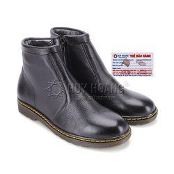 Giày boot nam Huy Hoàng màu đen HR7720 giá sỉ