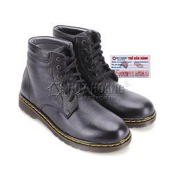 Giày boot nam Huy Hoàng cột dây màu đen HR7721 giá sỉ