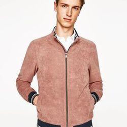 Áo khoác nam da lộn rất đẹp- giá sỉ