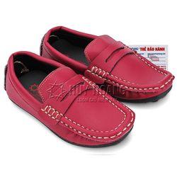 Giày kids mọi nam Huy Hoàng màu đỏ HR7807