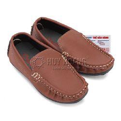 Giày kids mọi nam Huy Hoàng màu nâu đỏ HR7803