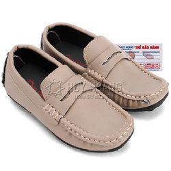 Giày kids mọi nam Huy Hoàng màu sữa HR7804