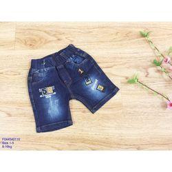 Quần short jeans 123 bé trai s1-5