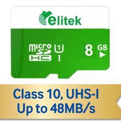 Thẻ nhớ ELITEK 8G Bảo hành 5 năm giá sỉ