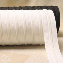 Dây khóa kéo nylon 3 giá rẻ màu trắng hoặc đen giá sỉ