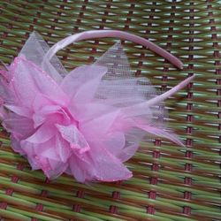 HÀNG ORDER Cài hoa công chúa cho bé gái E004