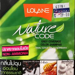 Thuốc gội nhuộm tóc Lolane Thai Lan 100 phần trăm thiên nhiên