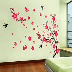 Decal dán tường Hoa Đào cho ngày Tết 60 x 90 cm giá sỉ