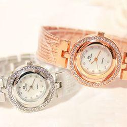 Đồng hồ nữ mặt tròn kiểu vòng tay - ms 17865 giá sỉ