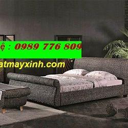 Xưởng sản giường ngủ chất liệu lục bình tự nhiên giá sỉ
