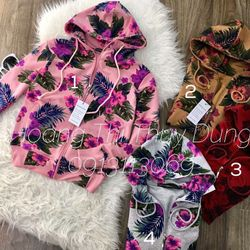 áo khoác hoa