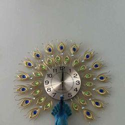 Đồng hồ treo tường chim công DHS40B giá sỉ