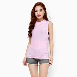 Áo 3 lỗ phong cách Hàn Quốc năng động màu hồng tím giá sỉ