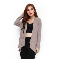 Áo khoác thun tay dài dáng cardigan phong cách giá sỉ