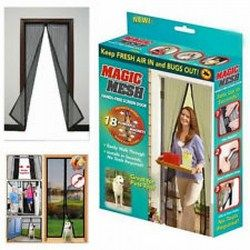 Rèm cửa nam châm chống muỗi Magic Mesh 3082 giá sỉ