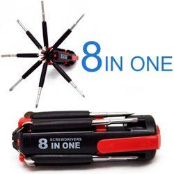Bộ vặn ốc vít đa năng 8 in 1 có đèn pin giá sỉ