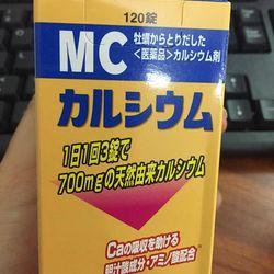 Viên uống MC Canxi phát triển chiều cao