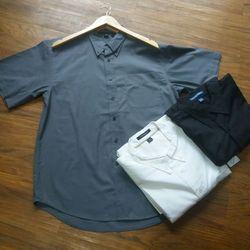 Áo somi tay ngắn bigsize rẻ