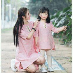 Đầm đôi mẹ bé giá sỉ