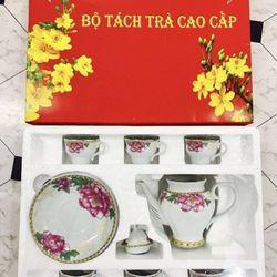 Bộ tách trà bình trà và 6 tách 6 dĩa giá sỉ