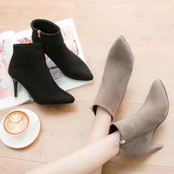 giày boot gót sơn siêu đẹpgs260