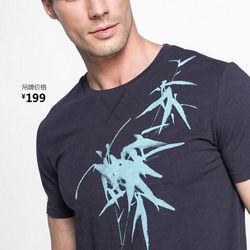 áo thun cổ tròn lookman 2311 giá sỉ