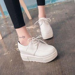 giày banh mi độn đế cá tính