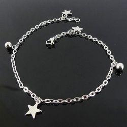 Lắc tay - chân inox hình ngôi sao