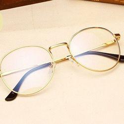 Mắt kính giả cận gọng vàng TGS70219 xinh cực luôn nha giá sỉ
