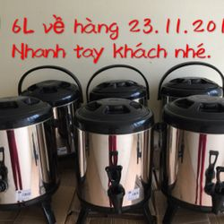 bình ủ trà chuyên nghiệp 6L