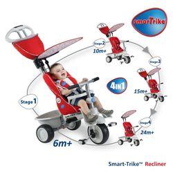 Xe đạp 3 bánh trẻ em thông minh Smart - Trike Recliner giá sỉ