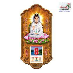Lịch Gỗ Phật Quan Âm giá sỉ