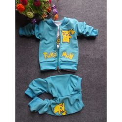 Set 3 chi tiết gồm 1 quần nie da cá 1 áo khoác nỉ da cá và 1 áo phông giá sỉ
