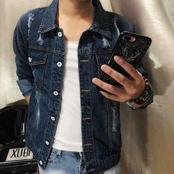 Áo khoác jean nam giá sỉ rẻ đẹp