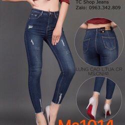 Quần Jeans Nữ MS 1014